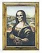 Mona Lisa Lenticular Large Wall Frame