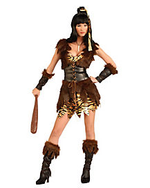 Adult Cave Girl Cutie Cave Woman Costume