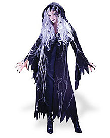Spiderweb Ghost Adult Womens Costume