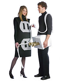 Adult Plug and Socket Couples Costume