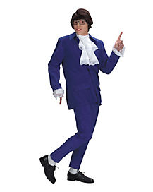 Adult Austin Powers Costume Deluxe - Austin Powers