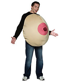 Giant Boob Adult Unisex Costume