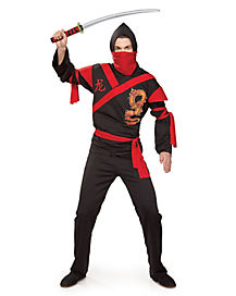 Adult Dragon Warrior Ninja Costume