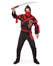 Adult Dragon Warrior Ninja Costume