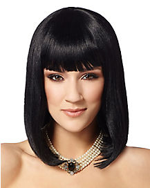 Black Pageboy Wig