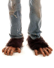 Chimp Feet Shoe Covers