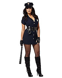 In the Line of Duty Adult Womens Cop Costume
