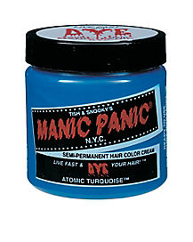 Manic Panic Turquoise Semi-Permanent Hair Color Cream