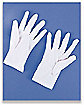 Short White Gloves
