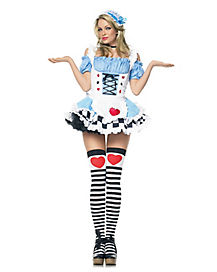 Miss Wonderland Adult Womens Costume