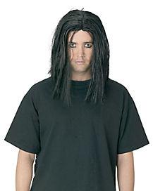 Sinister Adult Black Wig