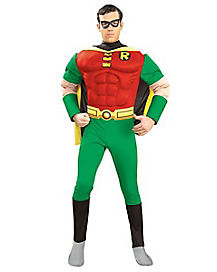 Batman Robin Muscle Chest Adult Mens Costume