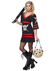 Adult Miss Voorhees Costume - Friday the 13th
