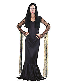 Adult Morticia Addams Costume - The Addams Family