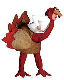 Adult Brown Turkey Costume