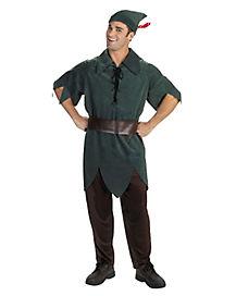 Adult Peter Pan Costume - Peter Pan