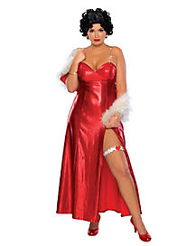 Betty Boop Adult Womens Plus Size Costume