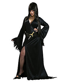 Adult Elvira Plus Size Costume - Elvira, Mistress of the Dark