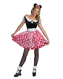 Minnie Mouse Deluxe Adult Womens Costume