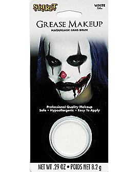 White Grease Makeup