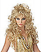 Seduction Curly Blonde Wig