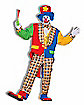 Clown On The Town Adult Mens Costume