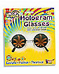 Hologram Leaf Hippie Glasses
