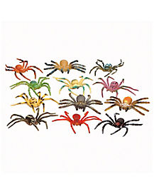 40 piece bag of Colored Spiders