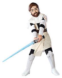 Kids Obi Wan Kenobi Costume - Star Wars Clone Wars