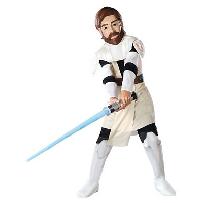 Star Wars Clone Wars Obi Wan Kenobi Child Costume