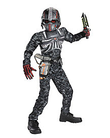 Kids Recon Commando One Piece Costume