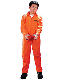 Got Busted Convict Child Costume
