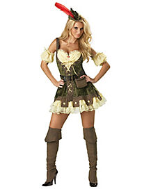 Adult Racy Robin Hood Costume - Theatrical