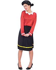 Olive Oyl Adult Womens Costume