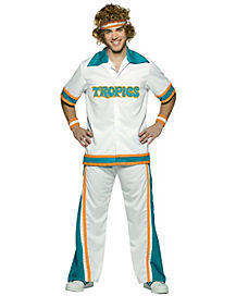 Adult Semi Pro Basketball Warm-Up Suit Costume - Semi Pro
