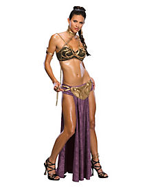 Princess Leia Sultry Slave Womens Costume