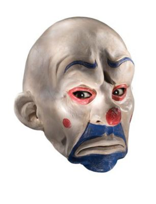 clown accomplice mask for halloween