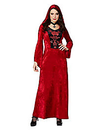 Adult Gothic Vampiress Robe Costume