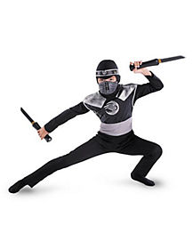 Dark Raven Shadow Ninja Child Costume