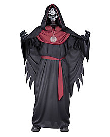 Kids Burgundy Emperor of Evil Costume