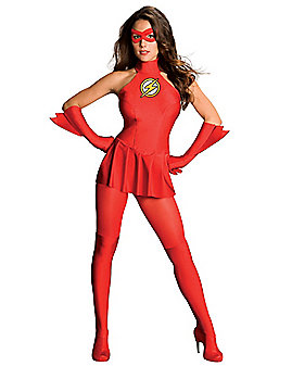 Adult Sexy The Flash Costume - Justice League