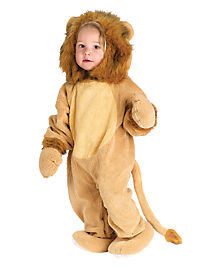 Baby Cuddly Lion Costume