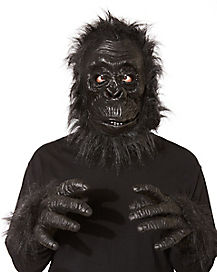 Realistic Black Ape Mask