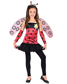 Kids Lovely Ladebug Costume