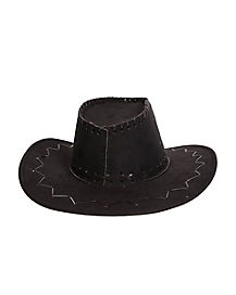 Black Stitch Cowboy Hat