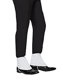 20's White Gangster Spats
