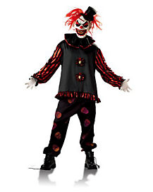 Red Carver the Clown Adult Costume