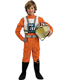 Star Wars X-Wing Pilot Flight Suit Child Costume