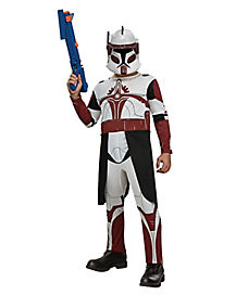 Kids Clone Trooper Commander Fox Costume - Star Wars Clone Wars