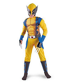 Kids Muscle Wolverine Costume - X-Men Origins